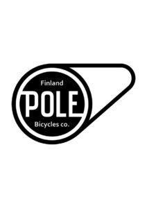pole bicycle company Oy logo all black