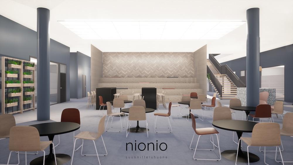 Crazy Town Jyväskylä laajennus alakerta Suunnitteluhuone NioNio