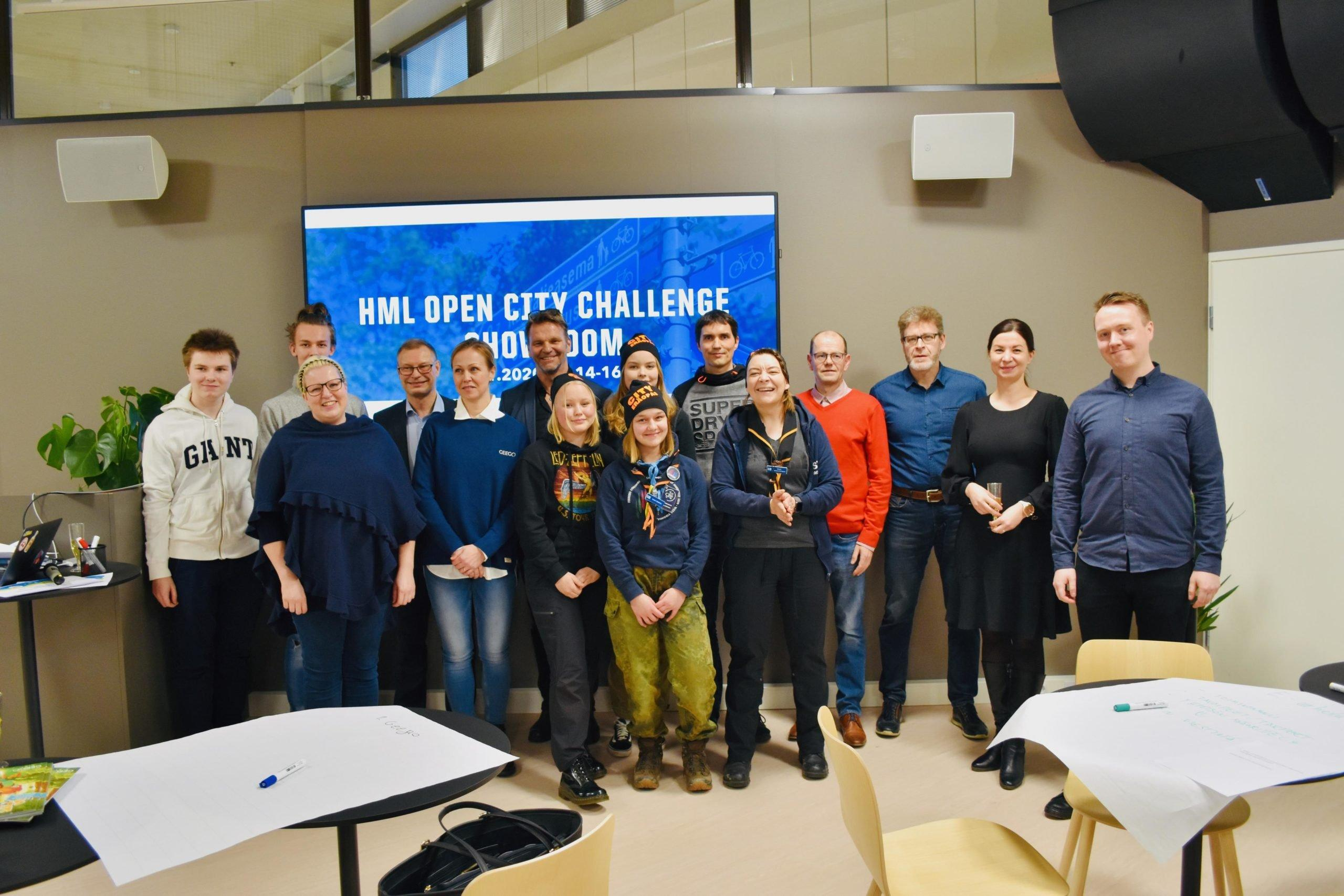 """Featured image for """"CASE: Yhteistyöllä uusia innovaatioita – HML Open City Challenge"""""""