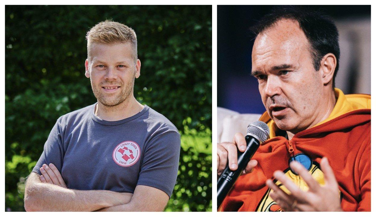 Crazy Town Mikko Markkanen ja Peter Vesterbacka