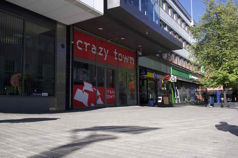 Crazy Town Jyväskylä kauppakadulta