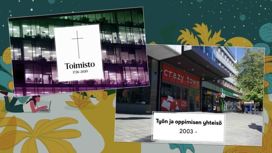 Toimisto on kuollut - Vastine Helsingin Sanomien artikkeliin