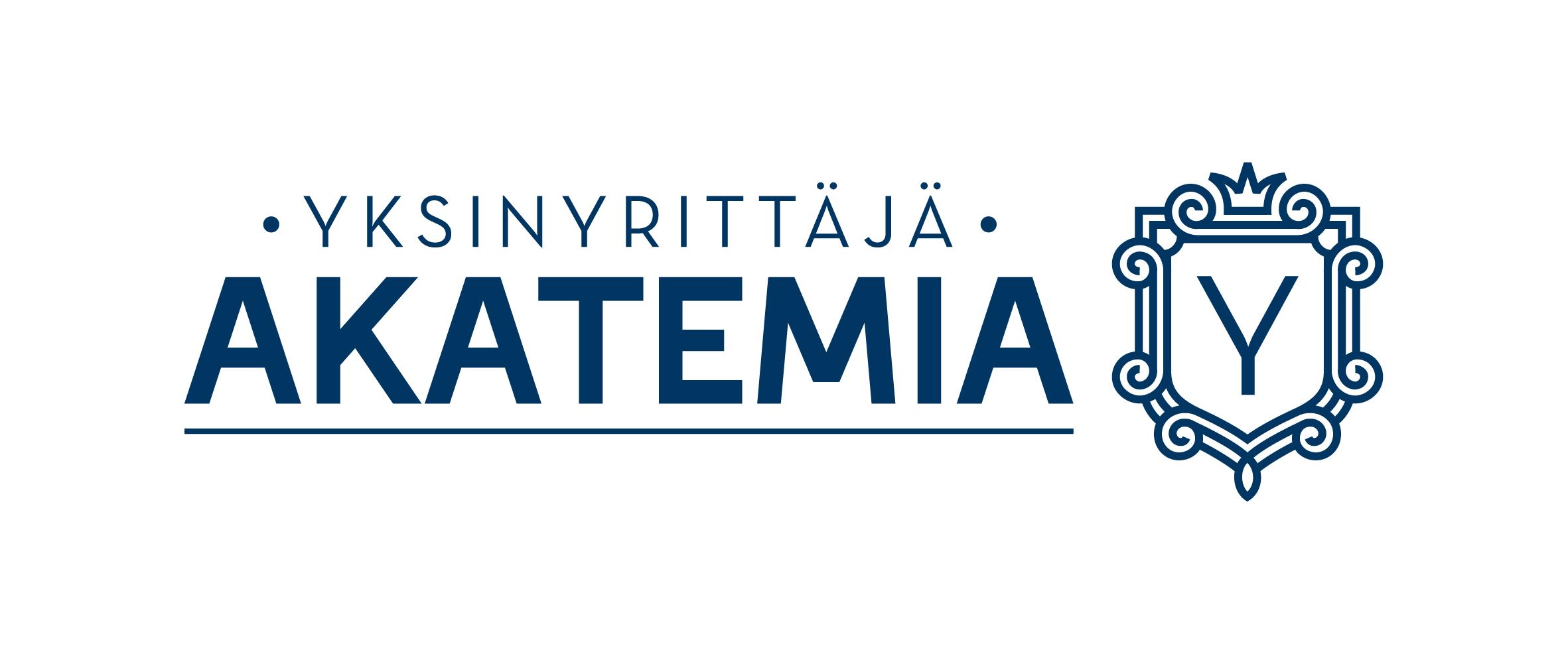 Yksinyrittäjä Yksinyrittäjäakatemia logo_nelio