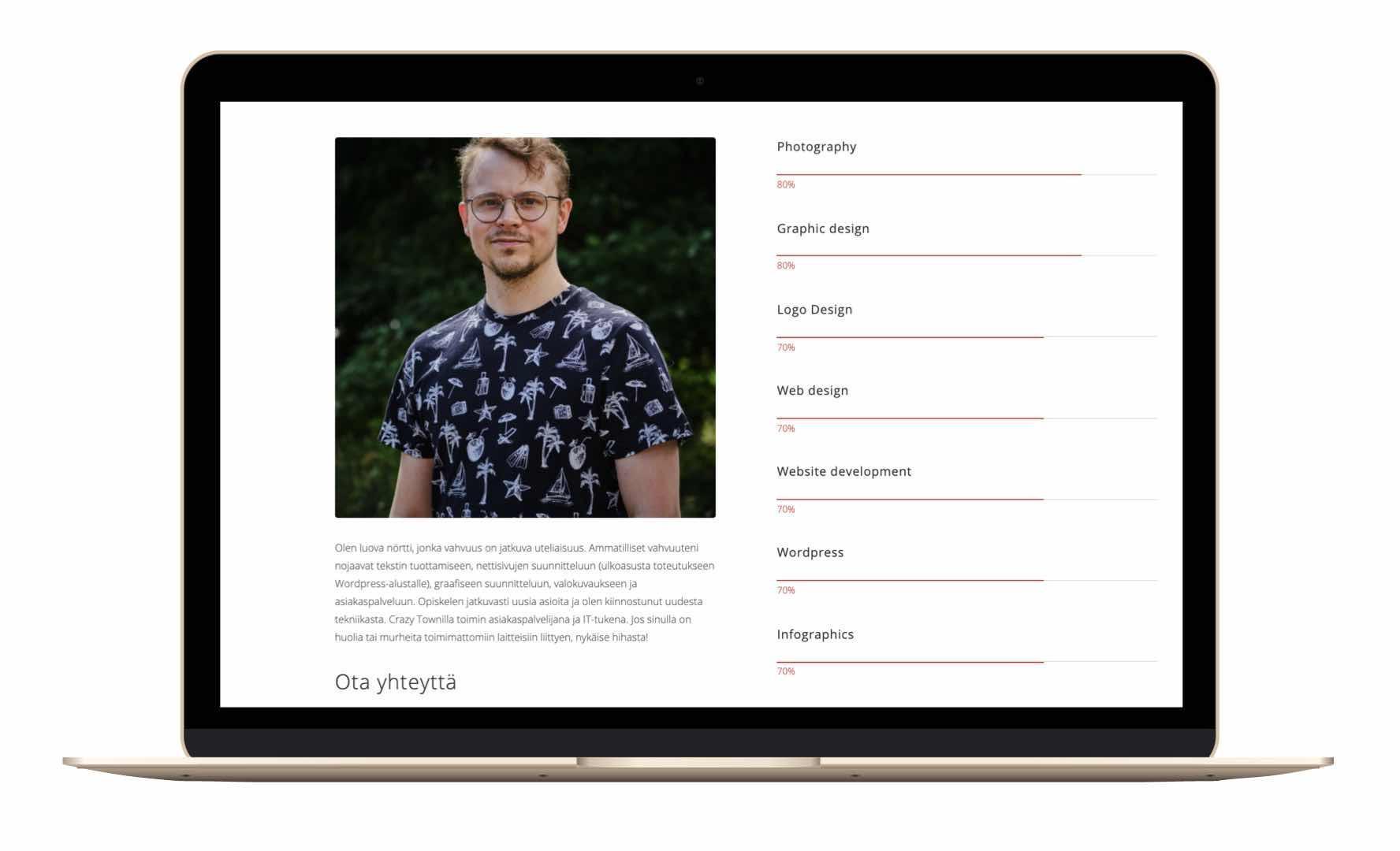 Digitaalinen yhteisö Skillhive profiilin esittely Niklas Isberg